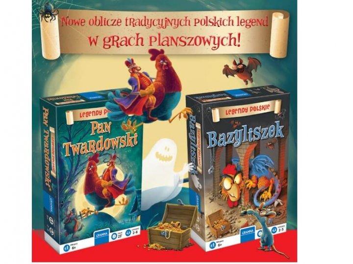 """""""Pan Twardowski"""" i """"Bazyliszek"""" recenzja gier"""