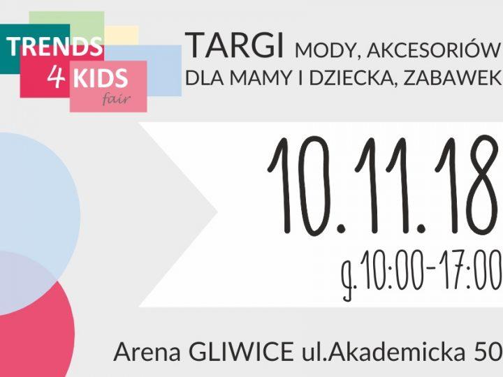 Trends 4 Kids Gliwice – targi akcesoriów dla mam i dzieci, moda już 10.11.2018r.!