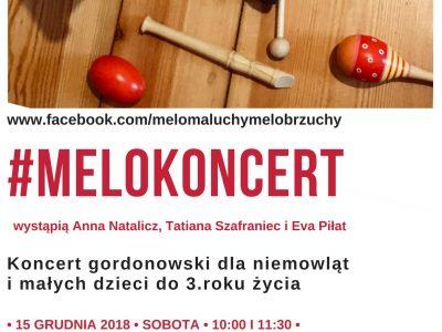 MeloKoncert dla niemowląt i małych dzieci w Warszawie