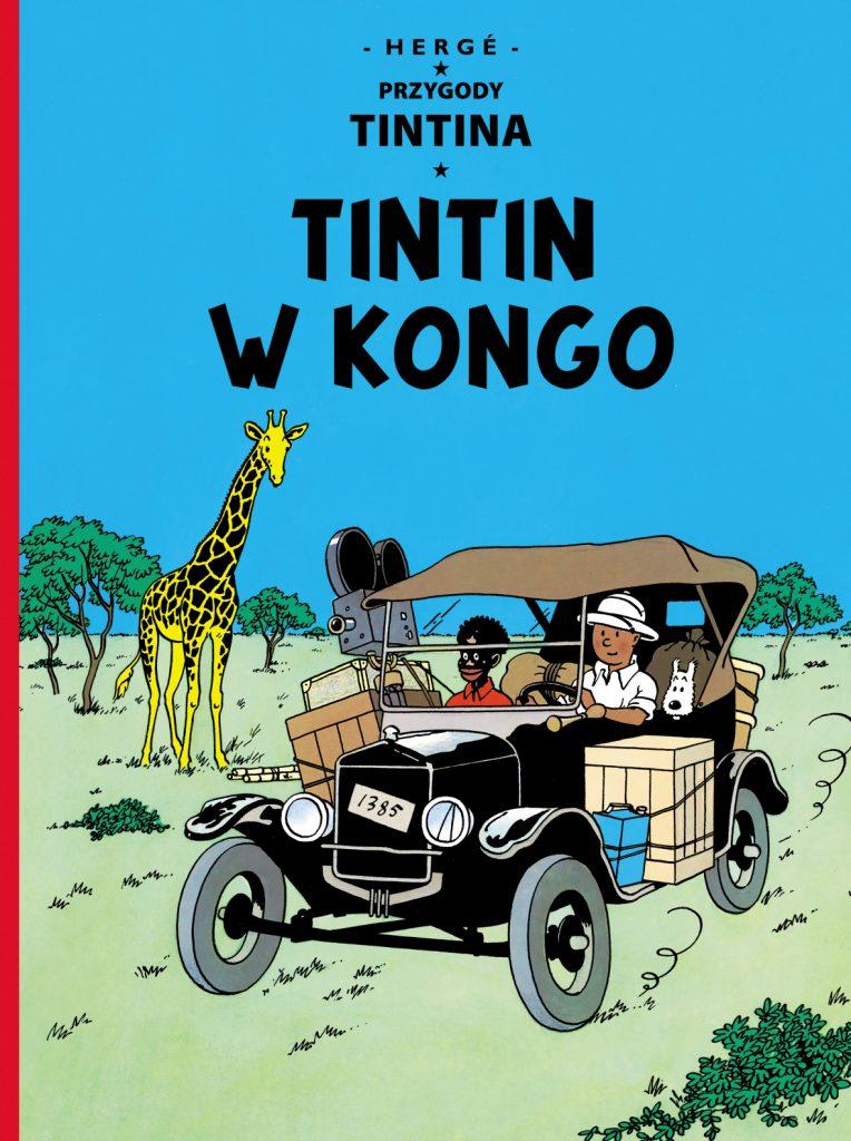 TinTin w Kongo