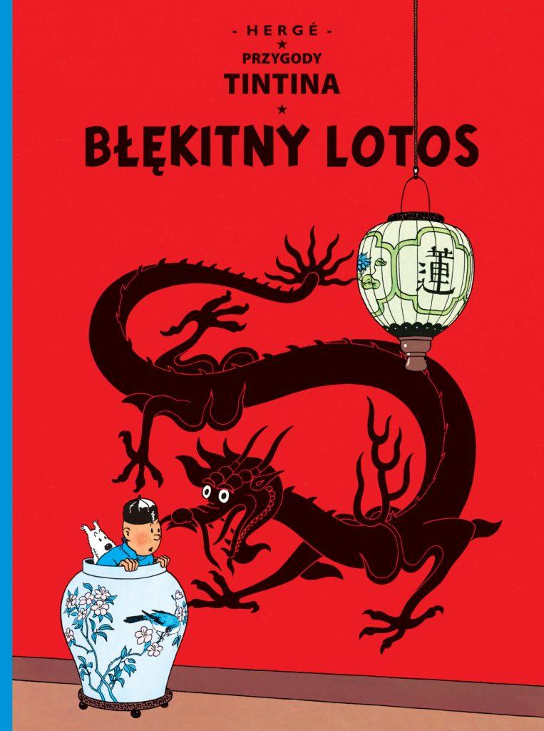 Tintin Blekitny Lotos