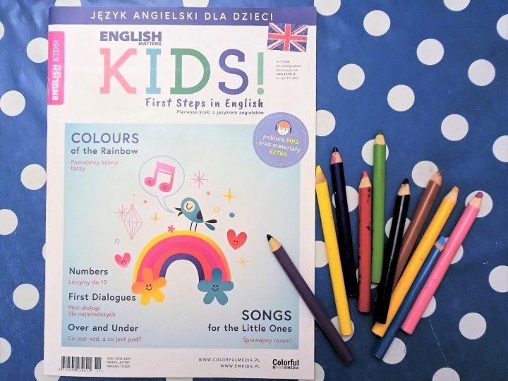 ENGLISH MATTERS KIDS – zabawy z angielskim dla przedszkolaka