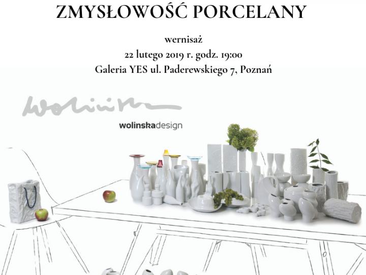 Zmysłowość porcelany – WERNISAŻ w Galerii YES w Poznaniu