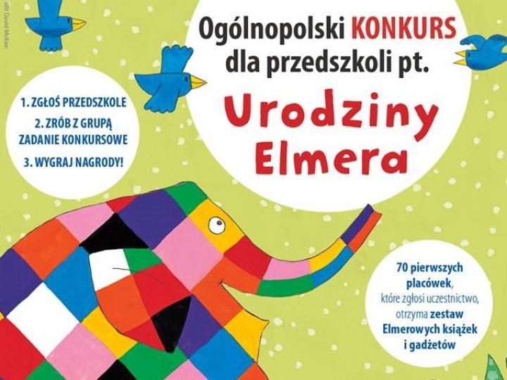 Urodziny Elmera – ogólnopolski konkurs dla przedszkoli Wydawnictwa Papilon