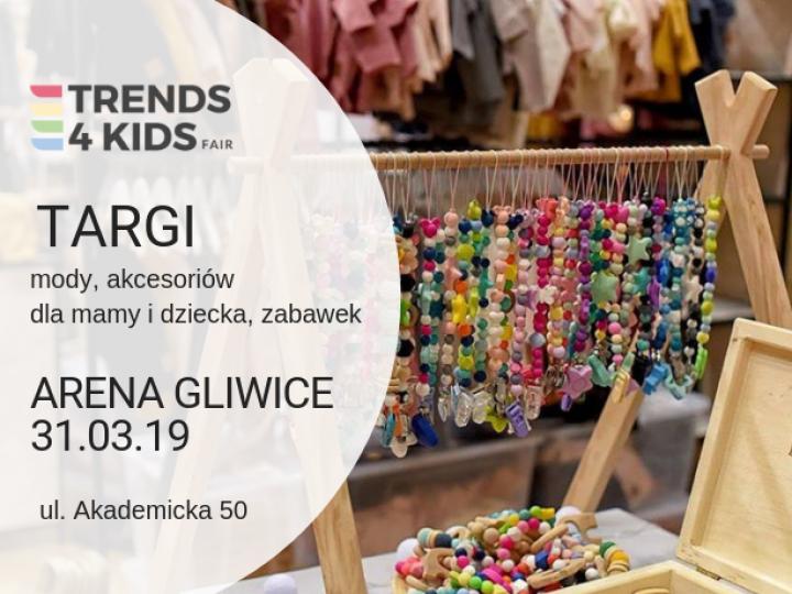 Wiosenna edycja targów Trends 4 Kids w Gliwicach