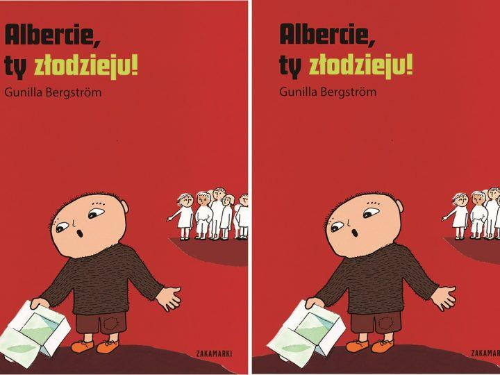 Albercie, ty złodzieju! od wydawnictwo Zakamarki