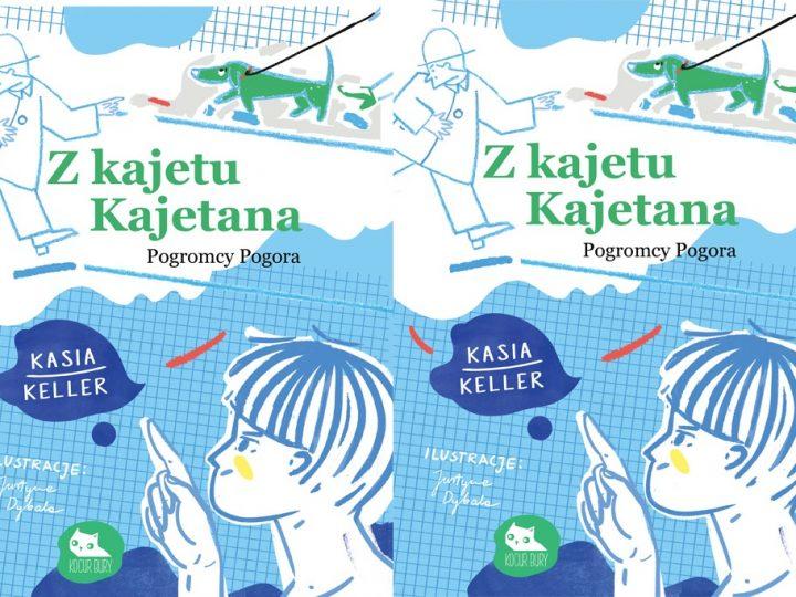 """""""Z kajetu Kajetana"""" – powieść, w której fikcyjny świat gry komputerowej styka się z rzeczywistością."""