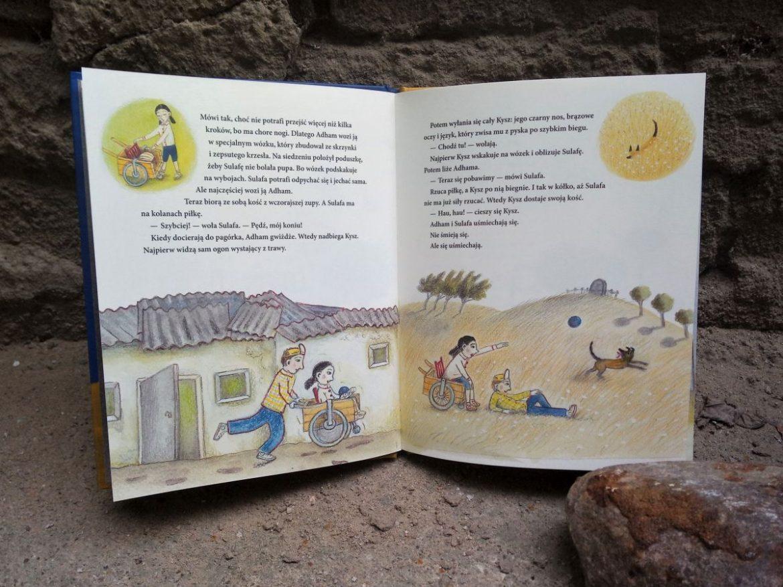 Mój Dom Murem Podzielony Recenzja Książki Chłopiec