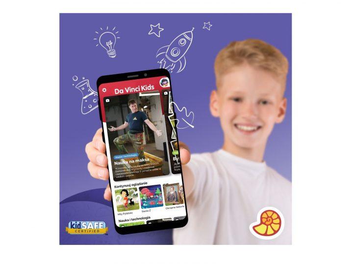 Poznaj Da Vinci Kids – wielotematyczną aplikację edukacyjną dla dzieci