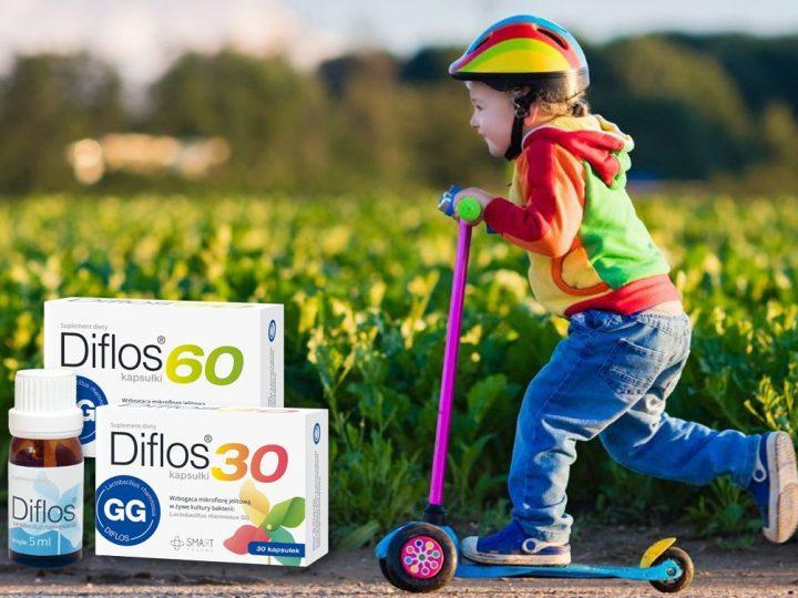 Budujemy odporność i wspieramy jelita z probiotykami Diflos!