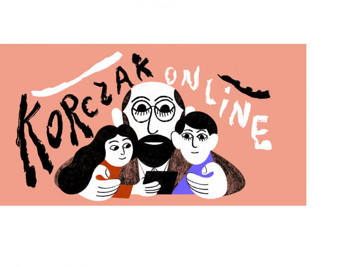Teatr dla dzieci w domowych warunkach-4 października rusza KORCZAK ONLINE