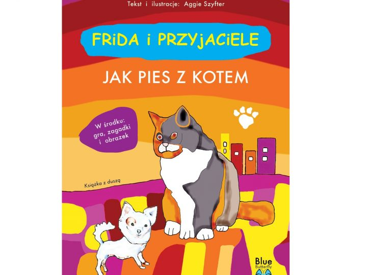Książki z duszą i autorskimi ilustracjami Agnieszki Szyfter dla dzieci już dostępne