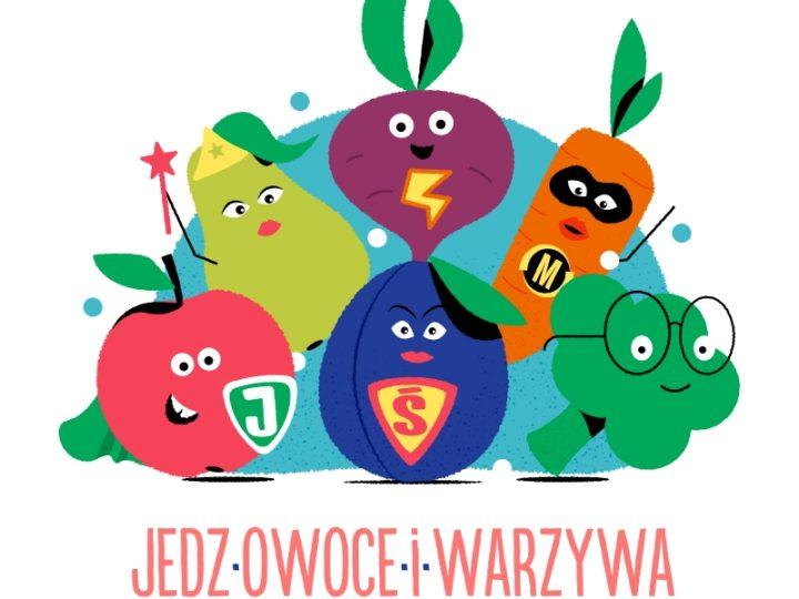 """Rusza II edycja kampanii """"Jedz Owoce i Warzywa – w nich największa moc się skrywa"""" – Połowa sukcesu znajduje się na talerzu!"""