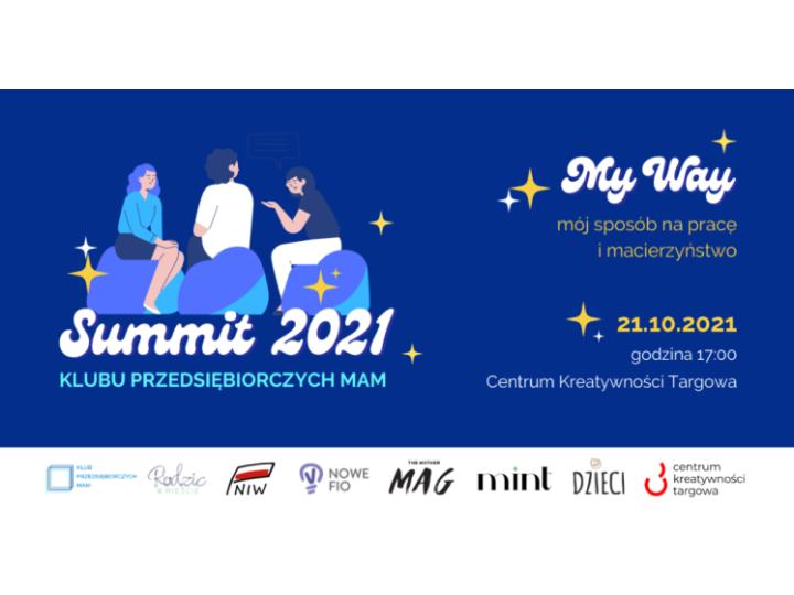 Summit KPM czyli święto przedsiębiorczych mam.
